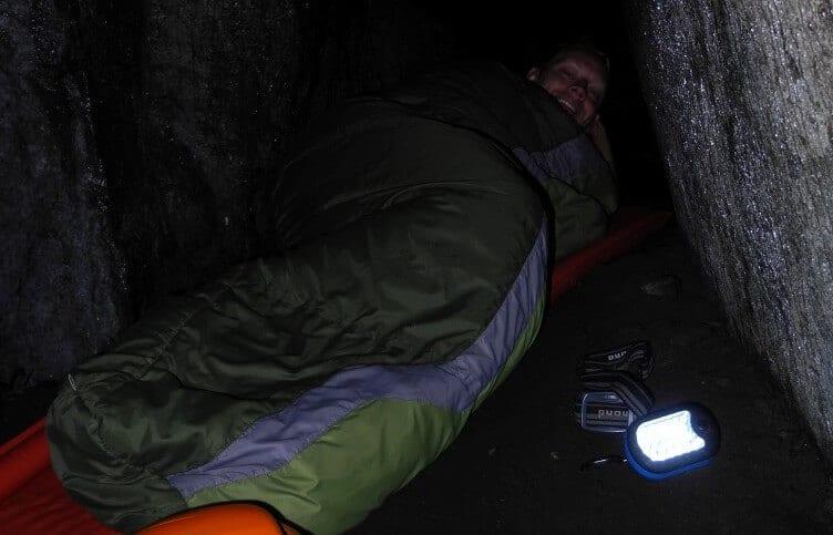Morgen i Börsås Grotten